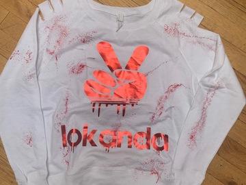 Selling A Singular Item: Lokanda Drippy Peace Sweatshirt