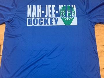 Selling A Singular Item: Nah Jee Wah Hockey Tee
