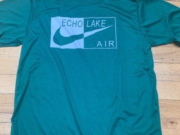 Selling A Singular Item: Echo Lake Air Tee