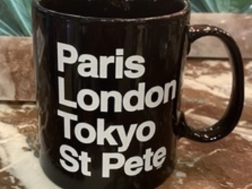 Selling with online payment: St Petersburg World Tour Coffee Mug