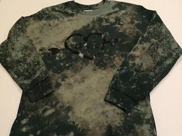 Selling A Singular Item: Splatter bleached long sleeved shirt