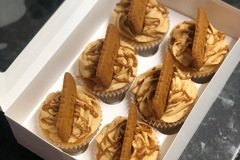 For Sale: Box of 6 Biscoff  cupcakes