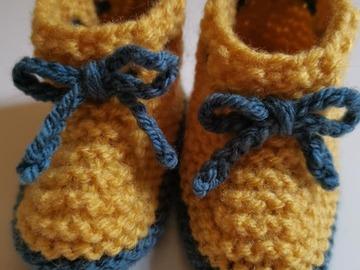 Vente au détail: Paire de chausson bébé 0-3 mois