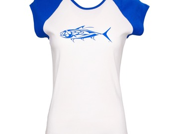 Selling with online payment: FinFish Women's Raglan Tee