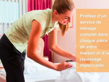 Offre: Club Services Plus est le spécialiste du ménage à domicile.