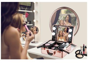 Venta: Maletin de maquillaje con luces