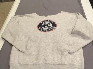 Selling A Singular Item: Cut neckline sweatshirt