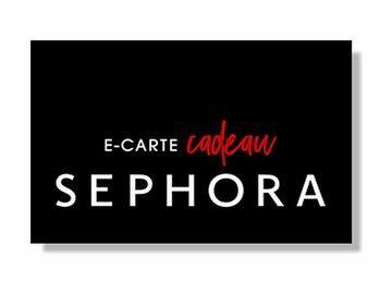 Vente: e-Carte cadeau Sephora (100€)