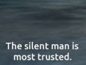 Selling: Where is your silent man?