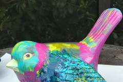 Selling with online payment: Ceramic Hand Painted Bird