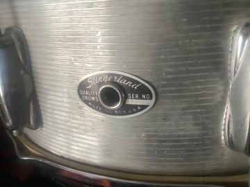 Question: Old Slingerland snare SER. NO. 355026