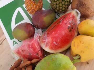 Vente avec paiement en direct: Panier fruit