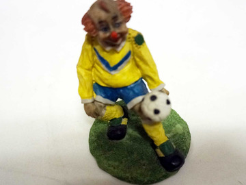 Vente: Figurine clown footballeur