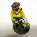 Vente: Figurine clown footballeur