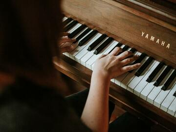 Online Payment - 1 on 1: Beg. and Interm. Piano, Harp, Violin, Viola, Bass, Oboe, Recorder