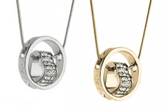 Buy Now: 12 Pieces Love Promise Necklaces made with Swarovski Elements