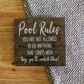 Selling with online payment: Pool Rules