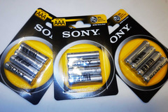 Vente: Lot de 3 packs de piles AAA 1.5 V