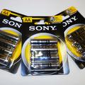 Vente: Lot de 3 packs de piles AA R6 1.5 V