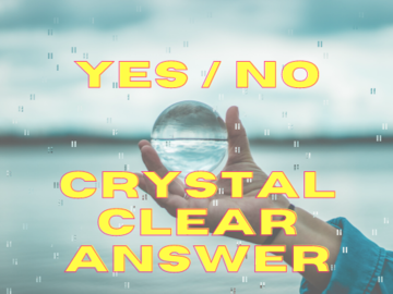 Selling: YES OR NO Answer to One Question