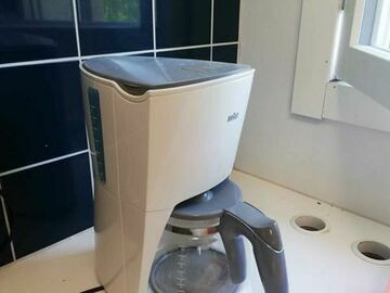 Myydään: coffee maker