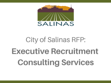 Procurement Listing: RFP: Executive Recruitment Consulting Services