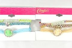 Buy Now: Dozen Rhinestone Bracelet Sets by Candies $240 Value