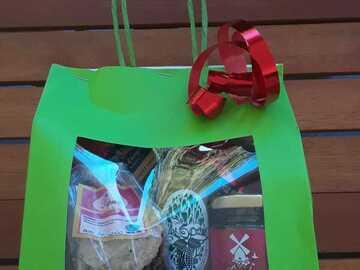 Vente avec paiement en direct: Coffret gourmand créole
