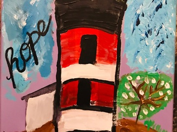 Selling with online payment: Inspirational Acrylic Painting