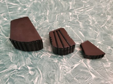Selling with online payment: Mighty Mite (generic) small rubber feet for drum and cymbal stand