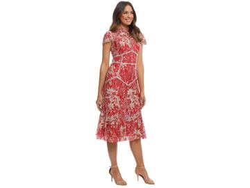 For Rent: MOSS & SPY: Annika High Neck Dress | Size 10