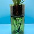 Selling with online payment: Self-Watering Wine Bottle Planter