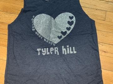 Selling A Singular Item: Tyler Hill Glitter Heart Tank