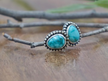 Selling: Beaded Turquoise Stud Earrings
