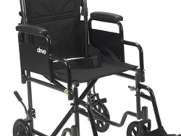 RENTAL: Aluminum Transport Chair Rental - Delivered in Toronto