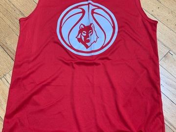 Selling A Singular Item: Timber Lake West Basketball Dry Fit Tank