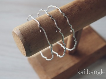 Selling with online payment: Handcrafted Sterling Silver Bangles