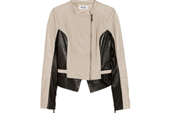 For Sale: ALICE by Temperley : Adelaide Two Tone Biker Jacket