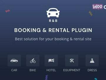 Offering with online payment: RnB - WooCommerce Booking & Rental Plugin