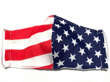 Selling with online payment: American Flag Print Cotton Face Mask