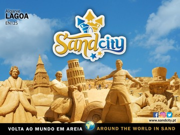 Suggestion: Esculturas na areia  - Sand sculptures Theme Park