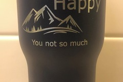 Selling with online payment: RTIC Laser Engraved 20oz Tumbler