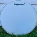 """Selling with online payment: Vintage (60's/70's) Slingerland 22"""" logo head"""