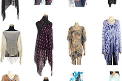 Liquidation/Wholesale Lot: 25 Assorted Womens Summer Kimonos / Outerwear