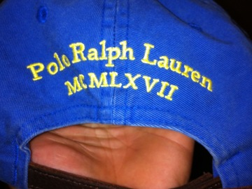 Vente: casquette POLO RALPH LAUREN neuve