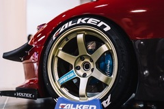 Selling: OG RAYS Volk Racing TE37 GOLD 18x10.5 +15 square WITH Falken tire