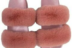 For Sale: faux fur slippers