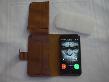 Vente: Pochette portefeuille cuir pour Iphone 6