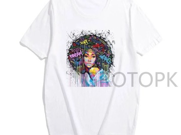 For Sale: Multi colour Afro tee