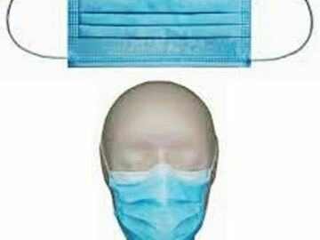 Buy Now: 10,000 units LEVEL 3 Mask 3-Ply disposable  Face Masks